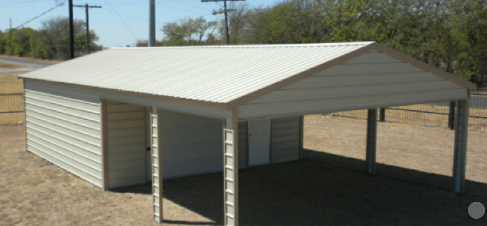 Combo Units Carport Outlet Texas Rv Covers Metal
