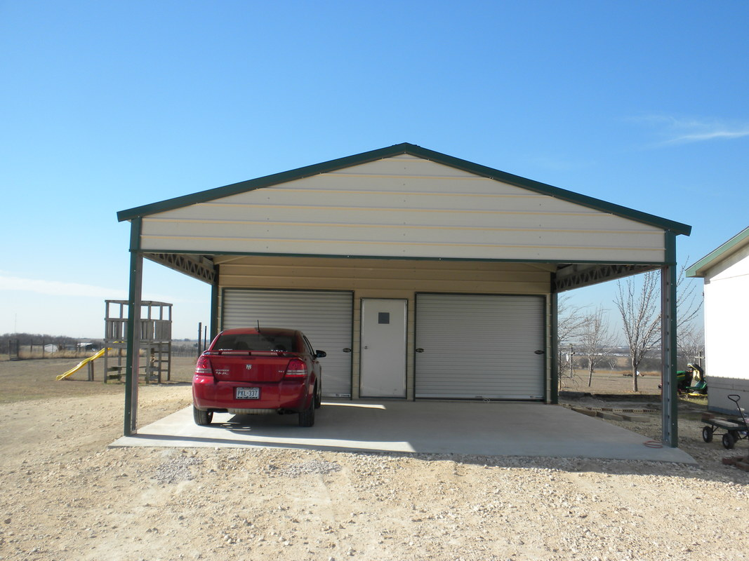 Garages Carport Outlet Texas Rv Covers Metal