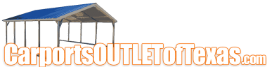 CARPORT OUTLET TEXAS | RV Covers, Metal Buildings, Metal Garages, More Logo