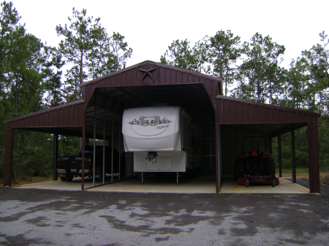 Rv Covers Carport Outlet Texas Rv Covers Metal
